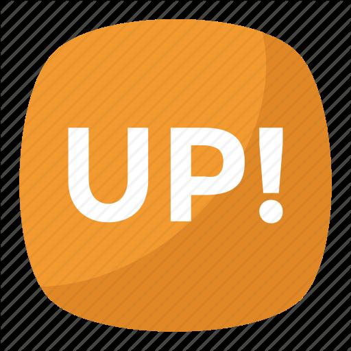 Information, Leveling Symbol, Up Button, Up Emoji, Up