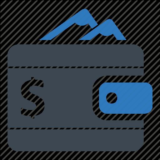 Cash, Digital, Wallet Icon