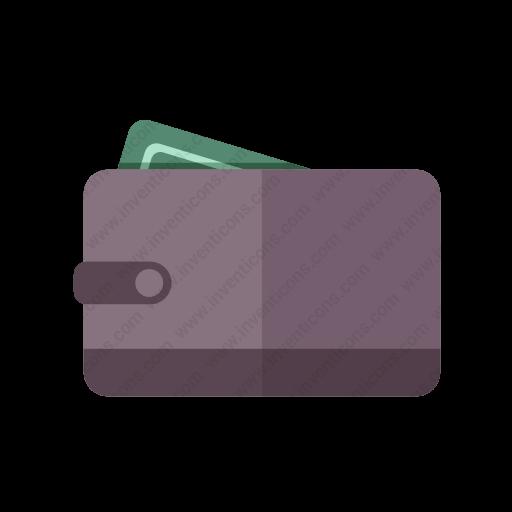 Download Wallet Icon Inventicons