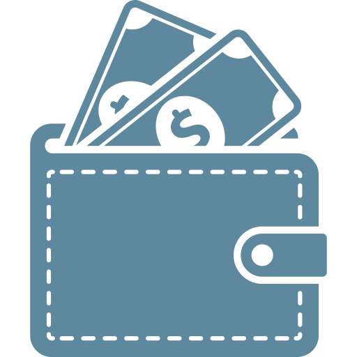 Payment, Money, Ecommerce, Method, Dollar, Wallet, Commerce Icon