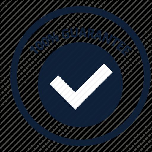 Check, Delivery, Good, Guarantee, Satisfaction, Store, Warranty Icon
