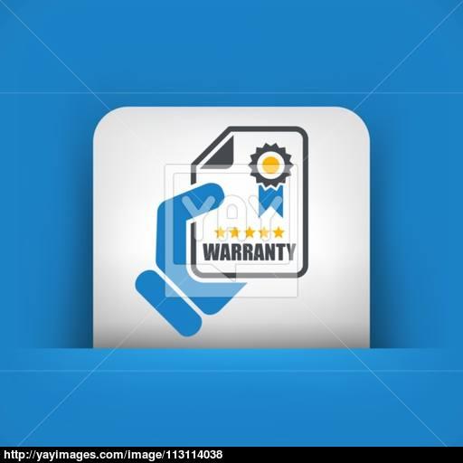 Warranty Icon Vector