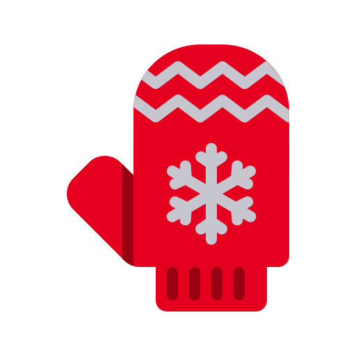 Gloves, Christmas, Cold, Mitten, Winter, Protection, Xmas Icon