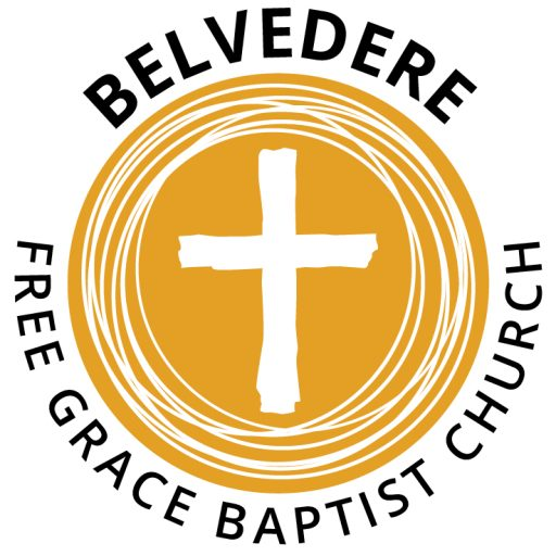 Belvedere Logo Revised Round Icon With Text Free Grace Baptist