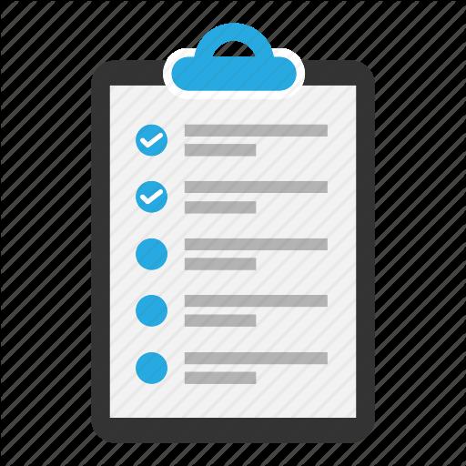 Checklist, Clipboard, Content, Document, Task, Text, Tick Icon
