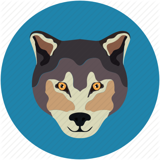 Fox, Fox Face, Wolf, Wolf Face Icon