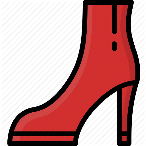 Ankle, Boots, Clothing, Colour, Heeled, Womens Icon