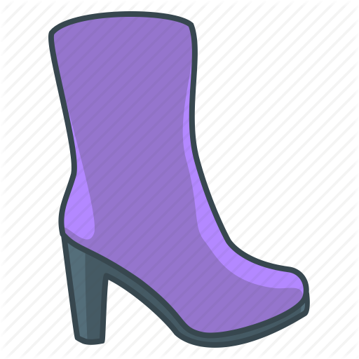 Boots, Clothes, Fashion, Womens Boots Icon