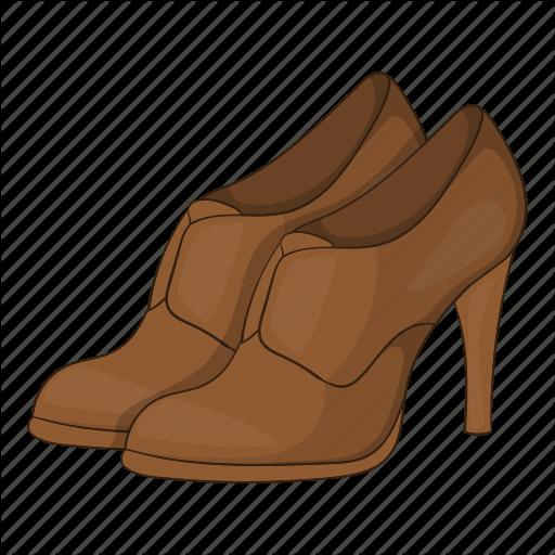 Cartoon, Fashion, Heel, Platform, Shoes, Sign, Womens Icon