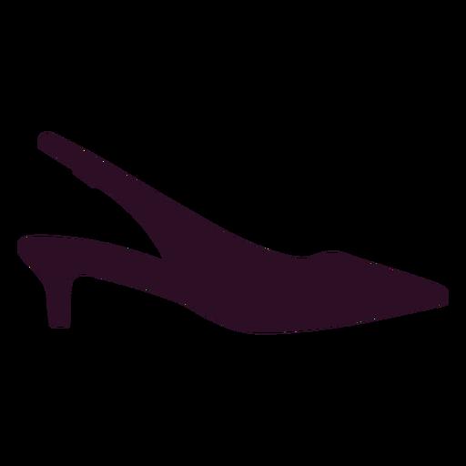 Women Shoe Icon Sign