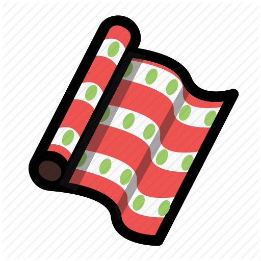 Christmas, Gift Wrap, Holiday, Winter, Wrap, Wrapping Paper, Xmas Icon