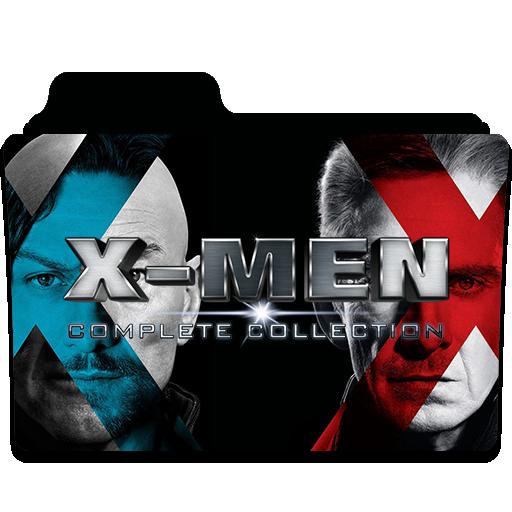 X Men Collection Folder Icon