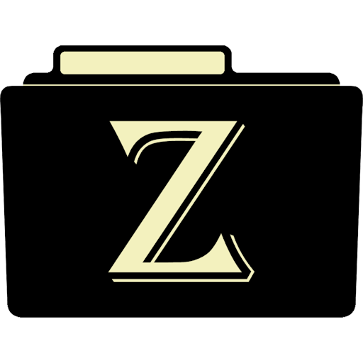 Z Icon Alphabet Folder Iconset Aaron Sinuhe