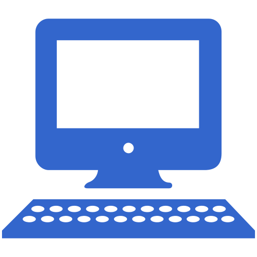 Fichierblue Computer Icon