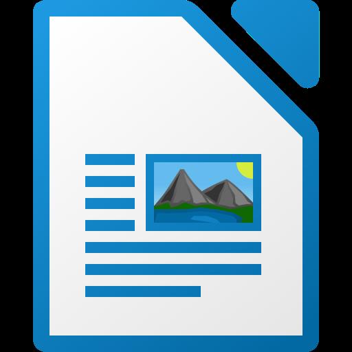 Fichierlibreoffice Writer Icon