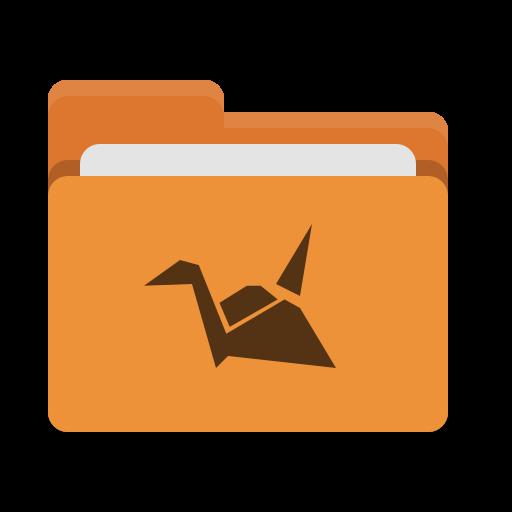 Dossier, Orange, Copier, Cloud Gratuit De Papirus Places