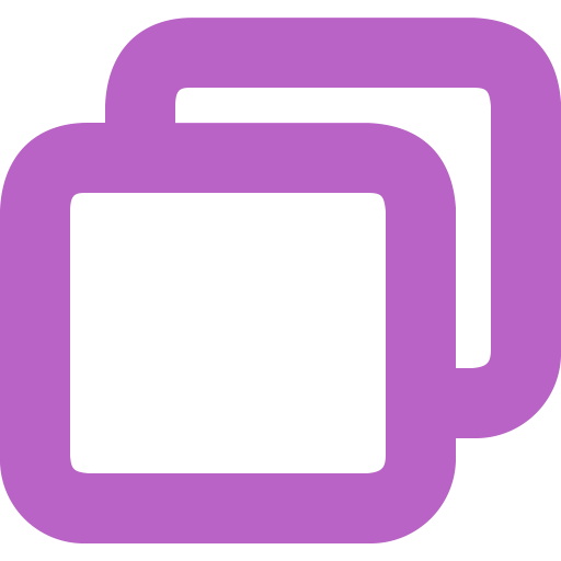 Copier, Coller, Deplacer, Carre Gratuit De Bold Purple