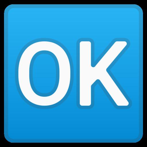 Bouton Ok Emoji