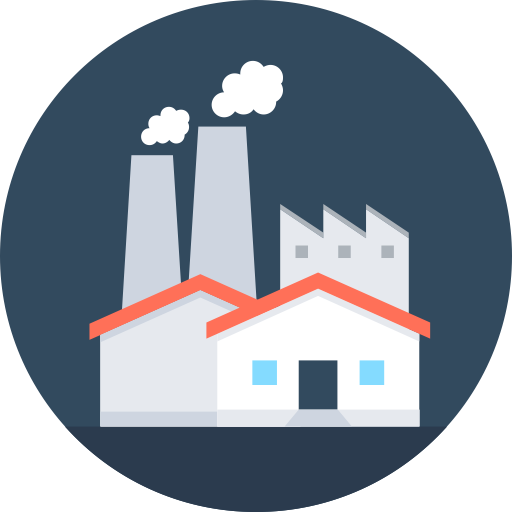 Find A Factory Inquiry, Factory, Industrial Icon With Png