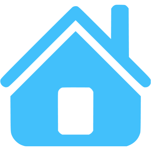 Blue Home Icon Images