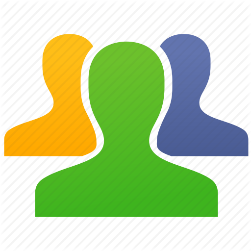 Contacts, Customers, Group, People, Staff, User Group, Users Icon