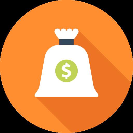 De L'argent, Sac Gratuit De Business And Finances Icons
