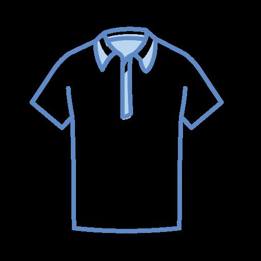 Collier, T, Shirt Gratuit De Clothing Icons Stroke Color