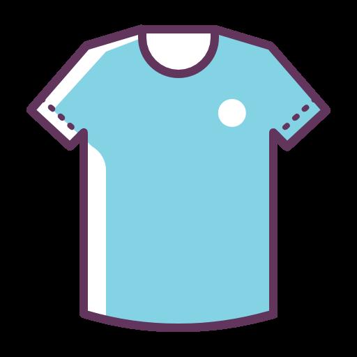 De Football, Tshirt, Bleu Gratuit De Football Icons