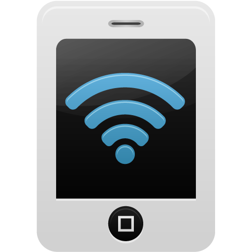 Telephone, Wifi Gratuit De Pretty Office Icons