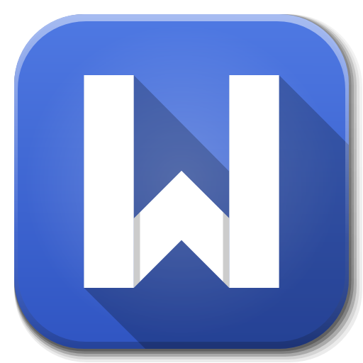 Apps Wps Word Icon Flatwoken Iconset Alecive