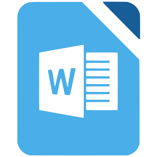 Office, Word, Writer Livre De Super Flat Remix