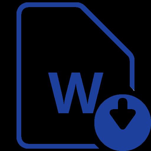 Arquivo Do Word, O Download Livre De Filetypes Icons