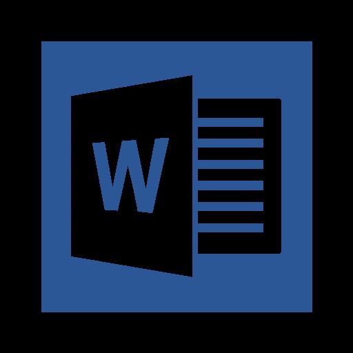 A Microsoft, O Office, O Word Livre De Microsoft Office Icons
