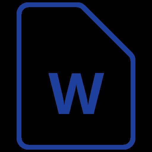 Fichier, Word Gratuit De Filetypes Icons