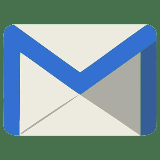 Email Icon Grey Blue Envelope Transparent Png