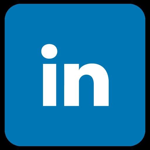 Icono Linkedin Azul