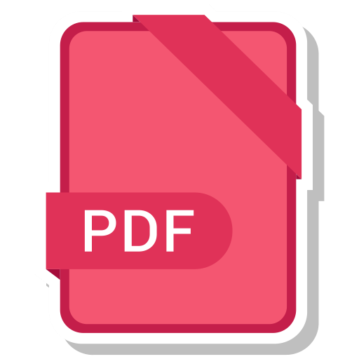Pdf, Format, Extension, Paper, Icon