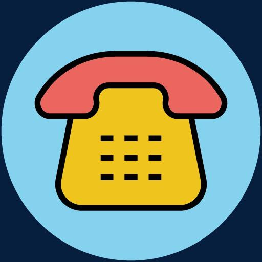Comedor Creativos Dibujos Pintados A Mano Icono Del Telefono