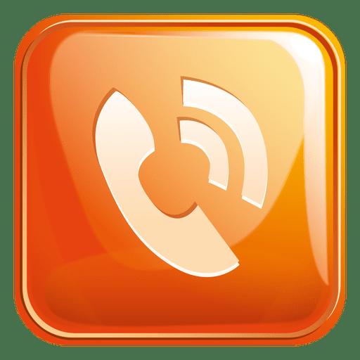 Icono Cuadrado De Telefono