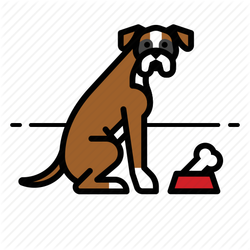 Boxer, Dog, Dogs, Pet, Puppy Icon