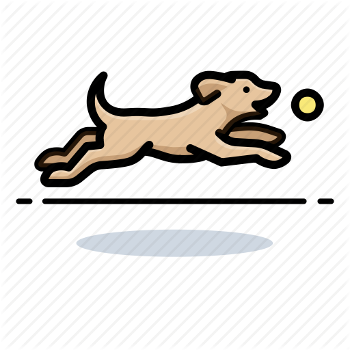 Dog, Dogs, Fetching Icon