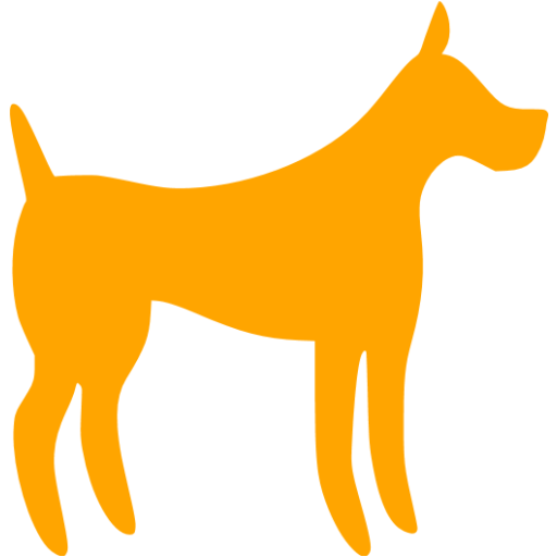 Orange Dog Icon