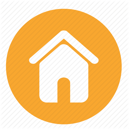 Apartment, Building, Home, Homepage, House, Office, Round Icon
