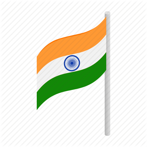 Country, Flag, India, Indian, Isometric, Nation, National Icon