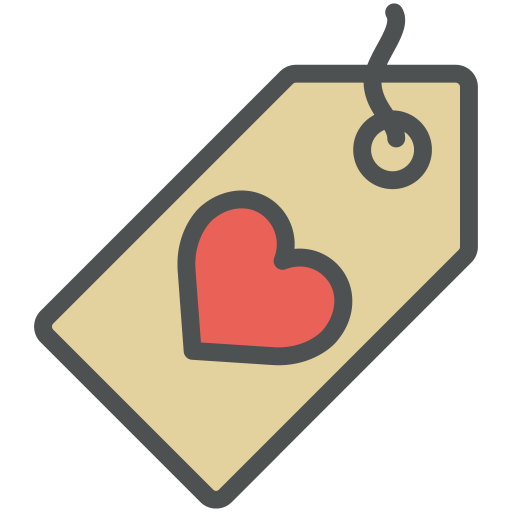 Heart, Label Icon Free Of Flat Line Valentine Icons