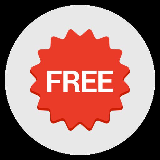 Label, Badge, Free, Sticker, Sales Icon