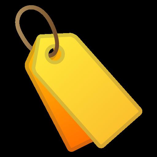 Label Icon Noto Emoji Objects Iconset Google