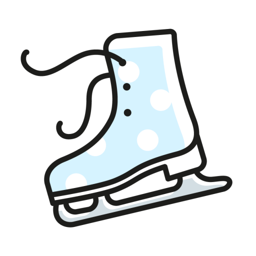 Ice, Skates, Sport, Winter, C Icon Free Of Vector Linear Winter