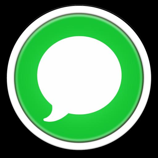 Messages Icon Orb Os X Iconset Osullivanluke