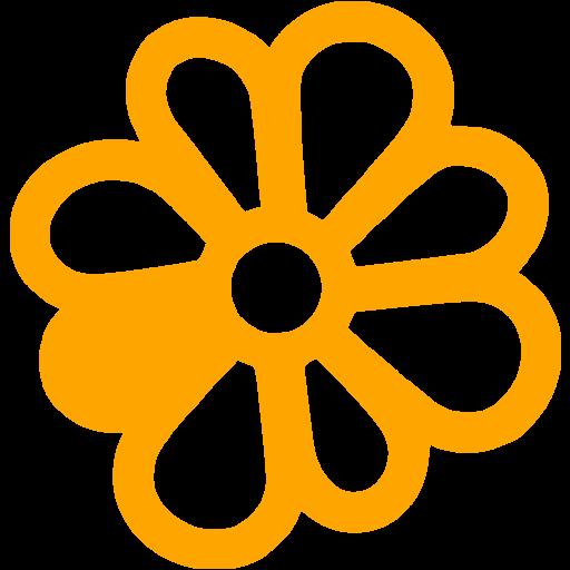 Orange Icq Icon